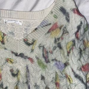 Anthropologie Bird Sweater